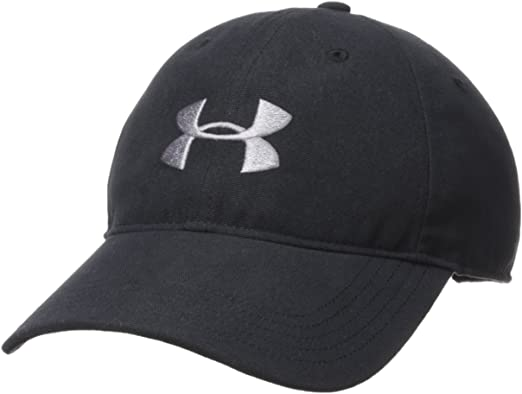 Under Armour Mens Core Canvas Dad Cap Gorra, Hombre, Negro (001 ...
