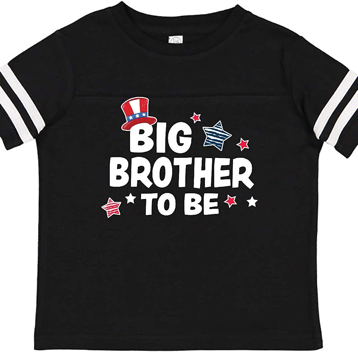 inktastic Big Brother to Be with Stars Toddler T-Shirt
