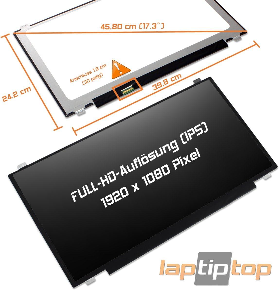 Laptiptop ASUS ROG GL702VT GL702VI GL702VS GL702ZC GL703VM LED Display Screen 17,3 matt FHD IPS Panel Bildschirm