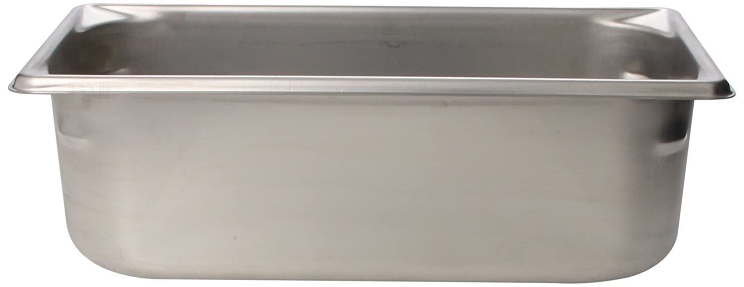 Vollrath (30342) 4' Deep Super Pan V Stainless Steel Third-Size Steam Table Pan