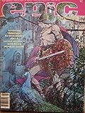 Epic Illustrated #7, August 1981. Barry Windsor-Smith, Neal Adams, John Bolton, Jim Starlin
