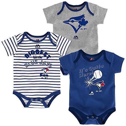 - Toronto Blue Jays Newborn Blue Grey White Stripe