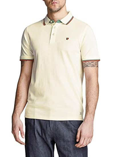 Polo Jack and Jones Paulos Beige Hombre S Beige: Amazon.es: Ropa y ...