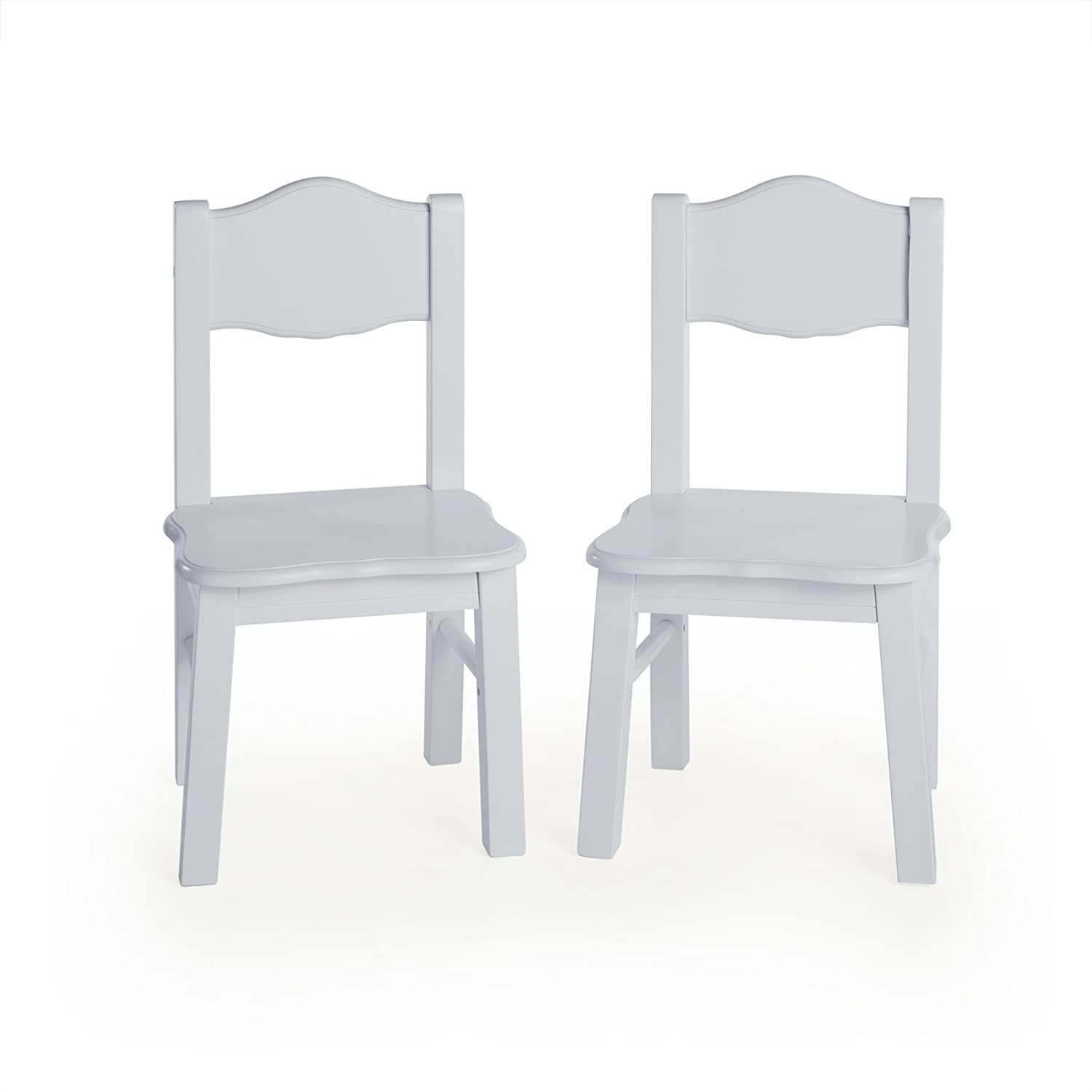 Guidecraft Classic Espresso Extra Chairs - Kids Furniture - Set of 2 24993E
