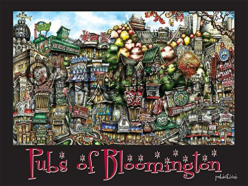 pubsOf Bloomington In Poster