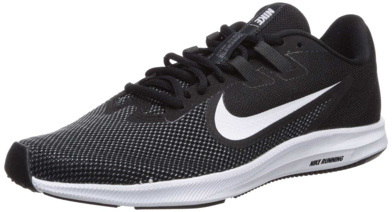 Nike Women's Downshifter 9 Sneaker, Black/White - Anthracite - Cool Grey, 9 Regular US by Nike