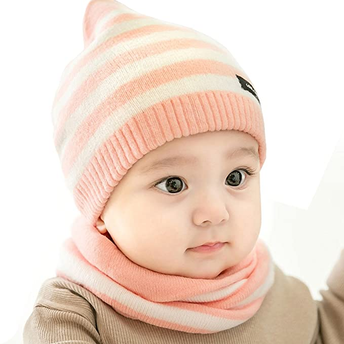 2657b4362c6 Amazon.com  Urberry Knit Beanie Cap for Baby