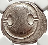 368 GR THEBES in BOEOTIA 368BC Ancient G