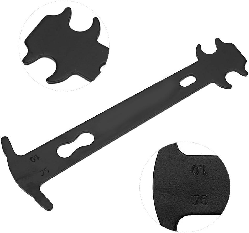 Steel Indicator Checker Repair Accessory Tool Chain Wear Ruler