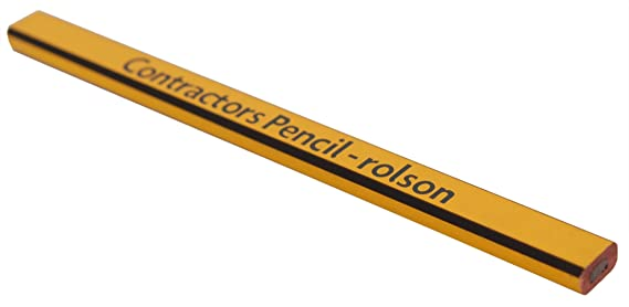 Rolson ® 6 Carpenters Contractors Pencil Builders Construction Pencils