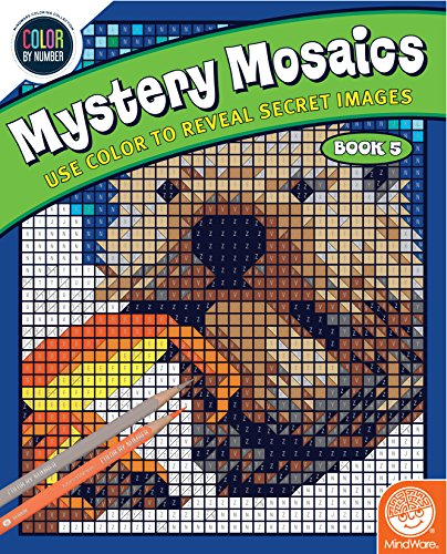 MindWare Color by Number Mystery Mosaics: (Book 5)