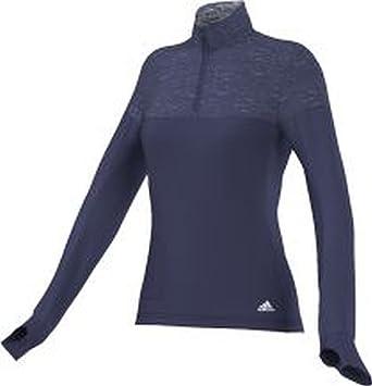 adidas Damen Jacke Supernova Storm 1 2 Zip  Amazon.de  Sport   Freizeit 3fd30a9f5c
