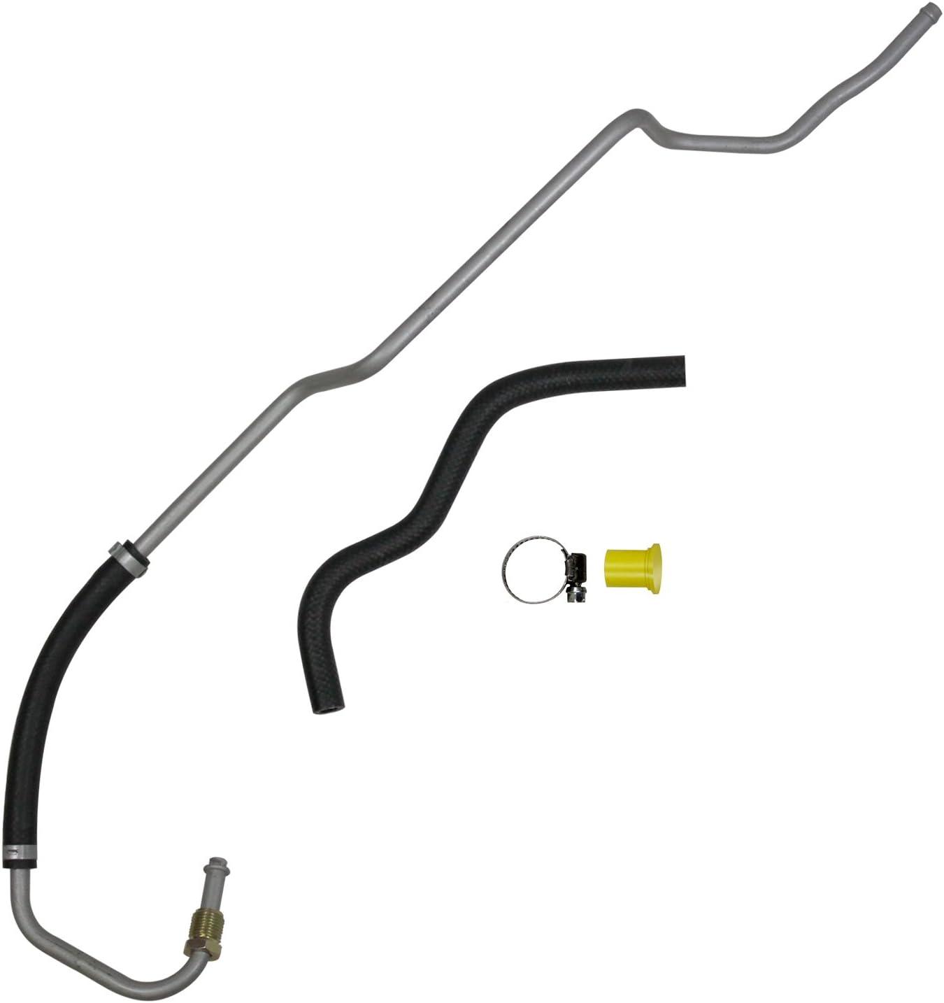 Power Steering Return Line Hose Assembly-Return Line Assembly Edelmann 93583