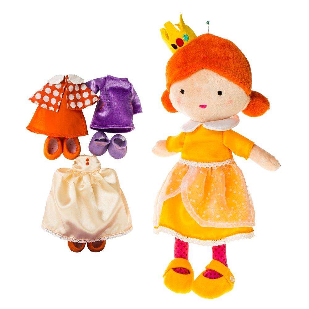 Labebe ❤【10% SCONTO】 Ragazza prescolare 4-in-1 principessa vestire set / regalo, bambola gioco di ruolo, fingere giocare a giocattoli - Annie