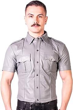 Prowler - Camisa de policía ajustada (talla XL, color rojo ...
