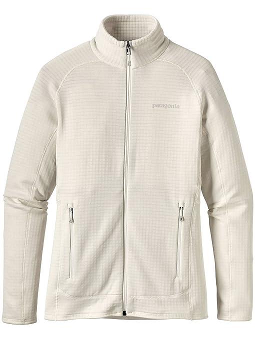 Patagonia Ws R1 Full-Zip Jkt Birch White L