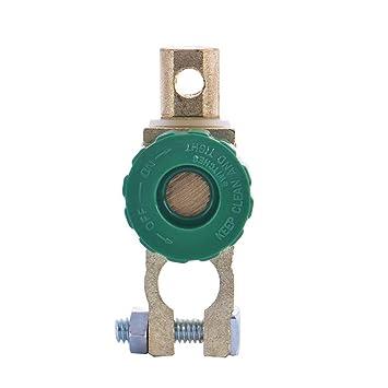 LasVogos Profesional de aleación de Zinc de Cobre de la batería Terminal de Enlace rápido Cambio