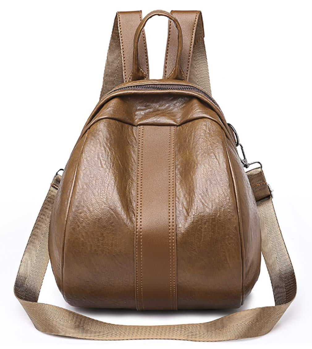 RSQJ Mini Backpack Shoulder Bag Diagonal Seashell Bag Pleated Bag (Color : A, Size : 221826cm)