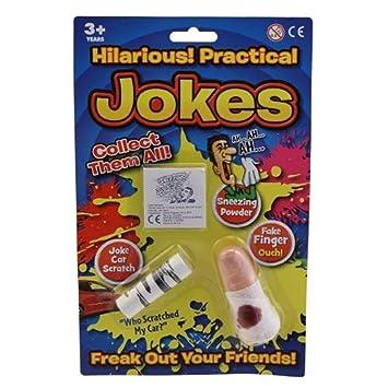 Practical Jokes Set Boys Prank Gag Gift Idea Toy Novelty Trick New Childrens Parking Fake