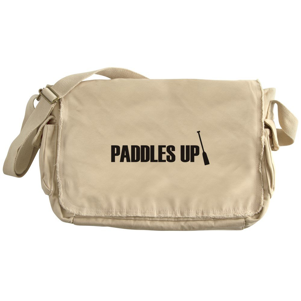 CafePress - Dragon Boat - Paddles Up! - Unique Messenger Bag, Canvas Courier Bag