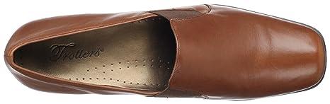 Trotters Ash Mujer Castaño claro Grande Piel Mocasines Zapatos Nuevo EU 38: Amazon.es: Ropa y accesorios