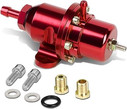 For Honda B16A B18 D16 B20 B17 D15 F22 Bolt-on Fuel Pressure Regulator Kit Black