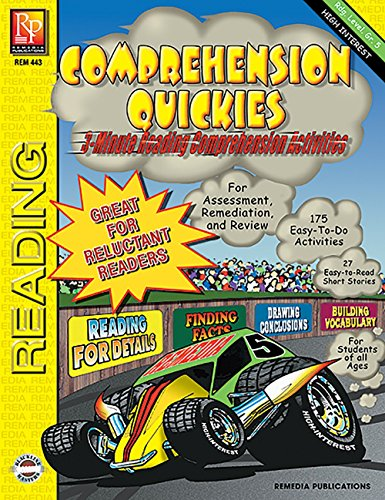 Comprehension Quickies (Reading Level 5) | Reproducible Activity Book