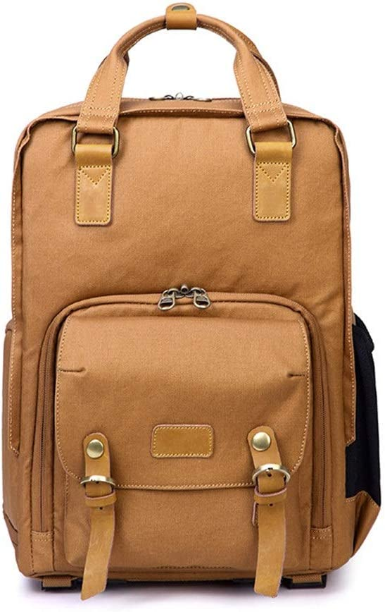 Mens Photo Camera Backpack Professional DSLR Photography Laptop Bag Outdoor Casual Rucksack Hiking Travel Daypack Trendy Fashion Anti-Theft DSLR SLR Camera Stylish Camera Backpack for Photographers