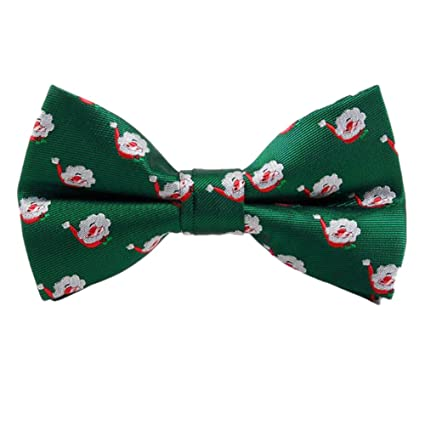fdcd4add1fcfe Lumanuby 1X Cravate Noeud Papillon Tie Homme Accessoire Décoration Costume  Vêtements Neutres de Noël Décorations de