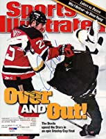 Jason Arnott Signed Sports Illustrated Magazine New Jersey Devils - PSA/DNA Authentication - NHL Hockey Memorabilia