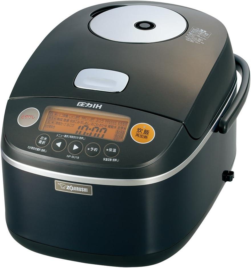 Zojirushi IH pressure rice cooker 1 bushel black NP-BU18-BA