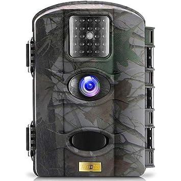 ARTITAN Cámara de Caza 12MP HD Trail Cámara Impermeable IP65 con Infrarrojos PIR Sensor de Movimiento