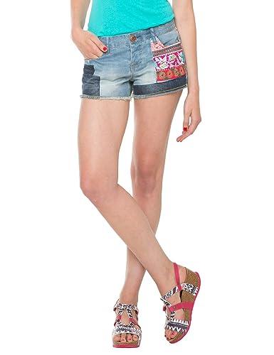 Desigual ETHNIC SUPER SHORT – Pantalones cortos Mujer