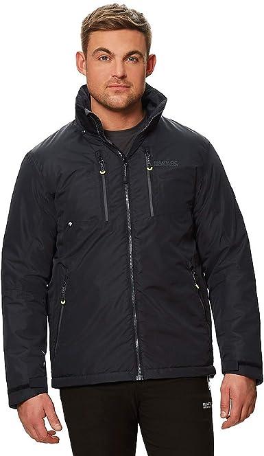 Regatta Mens Fabens Raincoat Waterproof Insulated Thermal Breathable Jacket Coat