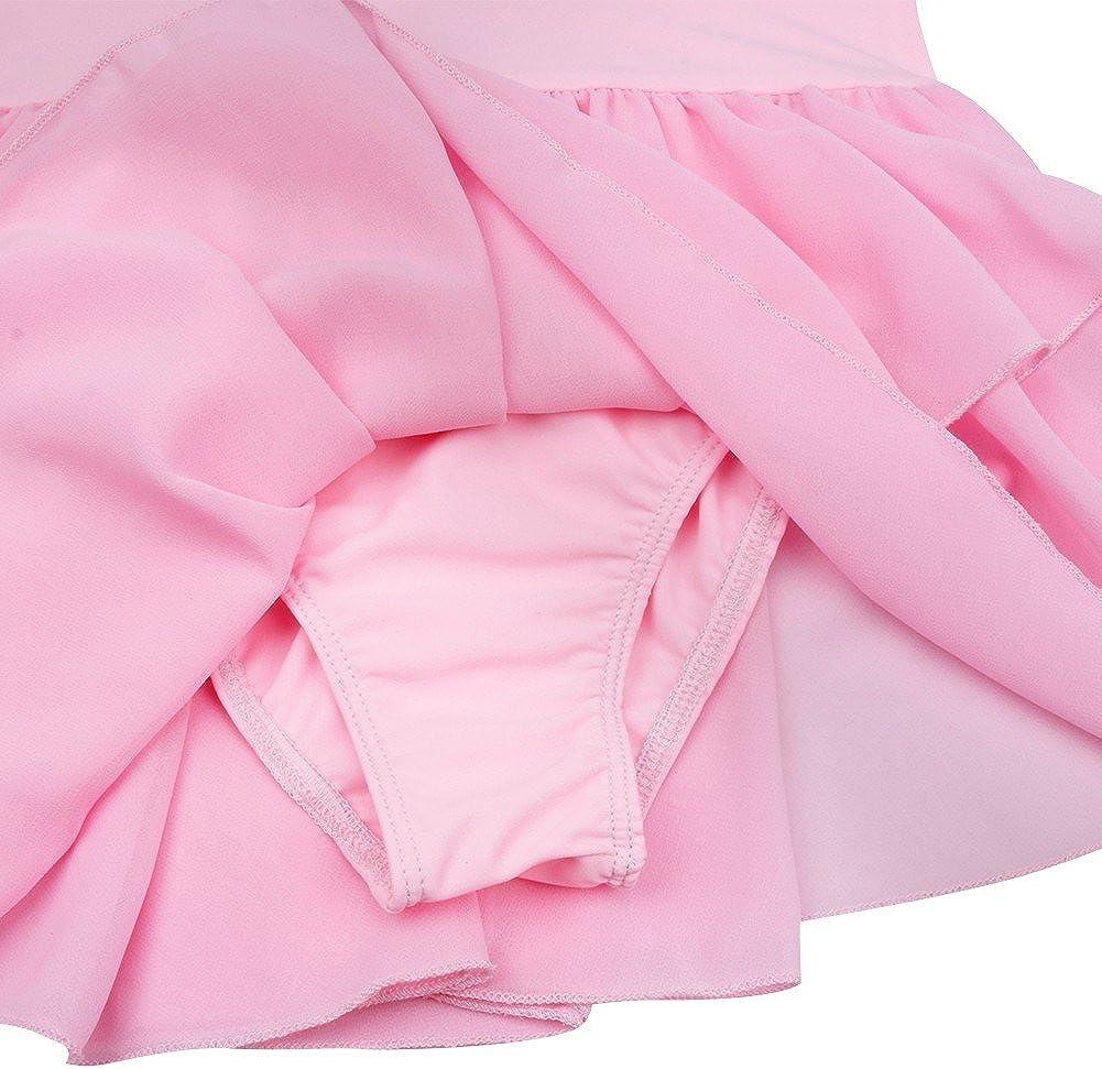 iiniim Girls Cotton Camisole Dance Dress Ballet Dress Leotard 2-12Y