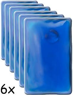 Reutilizables eBuyGB Pack de 10 Calentadores de Manos de Gel instant/áneos