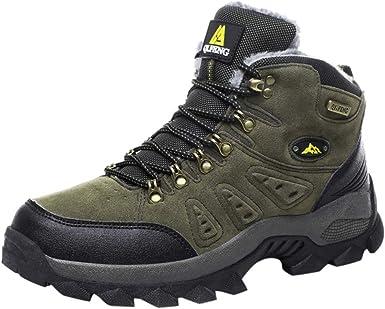 Dek Scarpe da Camminata ed Escursionismo Uomo Verde Cachi