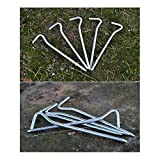Tent-Pegs-with-Hook-Freehawk-Tent-Stakes-Strong-Aluminum-Alloy-Garden-Stakes-Tent-Stakes-Camping-Tents-with-Tent-Pegs-Bags-for-Camping-Trip-Hiking-Gardening-Other-Outdoor-Activities-in-Silver