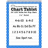 TOP NOTCH TEACHER PRODUCTS POLKA DOT CHART TABLET BLUE 1.5 (Set of 6)