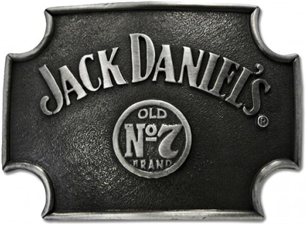 JACK DANIEL/'S Old  No.7 Brand round belt buckle ON SALE