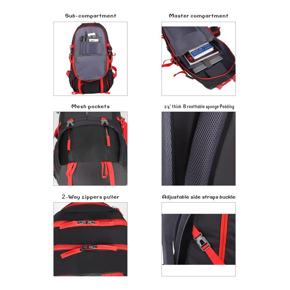 ANYA SMART 50L Waterproof Hiking Backpack//Camping Backpack.