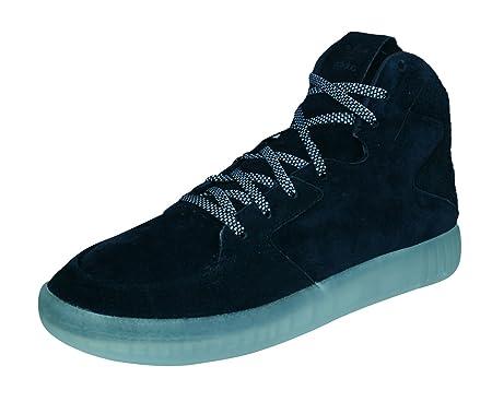 ee9b156e06cb3d adidas Mens Originals Trainers Tubular Invader 2.0 Suede High Tops-Black-5