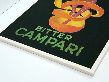 BaikalGallery Lienzo Cartel Vintage Bitter Campari Tamaño ...