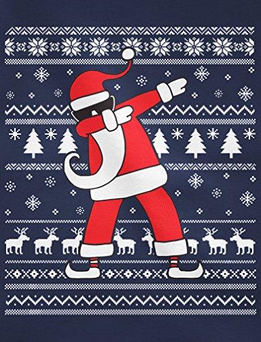 De Homme hop Père Gris Chiné Hip Pull Noël Design Sweatshirt Dab d7n8xw