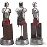 12 inch Full Armor of God Ephesians 6 Soldier Resin Stone Table Top Figurine