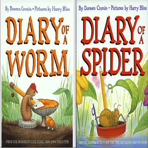 'Diary of a Spider' and 'Diary of a Worm'