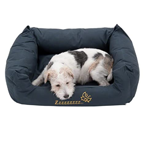 Sleepy Time - Cama para perro, color gris