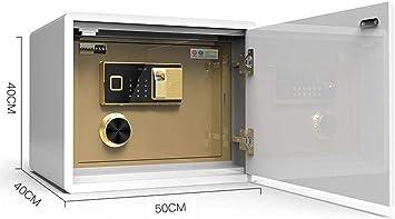 LZRZBH Huella digital electrónica caja fuerte de efectivo Caja ...