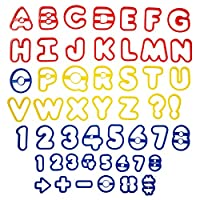 Alfabeto Wilton y juego de cortadores de galletas con números