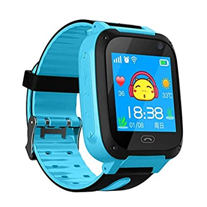 IFMSAN Reloj Inteligente para niños Pantalla táctil GPS Voz ...